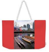 Canoe Club And Telus World Of Science In Vancouver Weekender Tote Bag