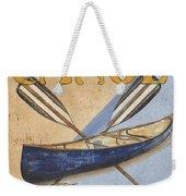Canoe Rentals Weekender Tote Bag