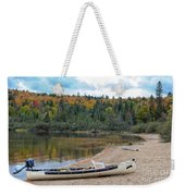 Canoe With An Engine Weekender Tote Bag