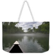 Canoeing The Ozarks Weekender Tote Bag