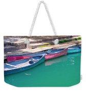 Canoes 3 Weekender Tote Bag