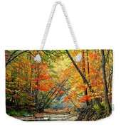 Canopy Of Color II Weekender Tote Bag by Frozen in Time Fine Art Photography