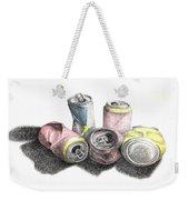 Cans Sketch Weekender Tote Bag