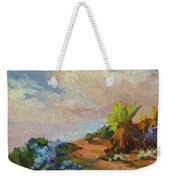 Canterbury Bells Joshua Tree Weekender Tote Bag