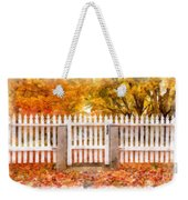 Canterbury Shaker Village Picket Fence  Weekender Tote Bag