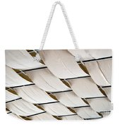 Canvas Ceiling Detail Weekender Tote Bag