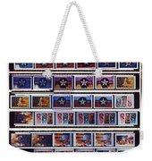 Canvas Contact Strip Weekender Tote Bag