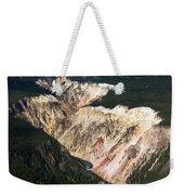 Canyon And Yellowstone Falls Weekender Tote Bag