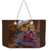 Canyon Cathedral Weekender Tote Bag