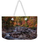 Canyon Color Rushing Waters Weekender Tote Bag