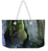 Canyon Creek Narrows And Spills Thousands Of Gallons A Minute  Weekender Tote Bag