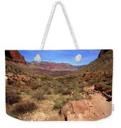Bright Angel Trail, The Grand Canyon  Weekender Tote Bag