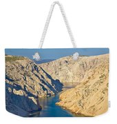 Canyon Of Zrmanja River In Croatia Weekender Tote Bag