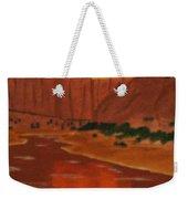Canyon Reflection Weekender Tote Bag