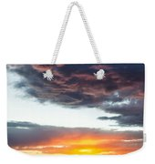 Canyon Sunset Weekender Tote Bag by Dave Bowman