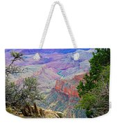 Canyon View From Walhalla Overlook On North Rim Of Grand Canyon-arizona  Weekender Tote Bag