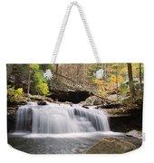 Canyon Waterfall-artistic Weekender Tote Bag