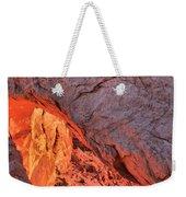 Canyonlands Orange Band Weekender Tote Bag