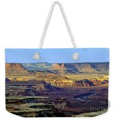 Canyonlands View From Green River Overlook Weekender Tote Bag