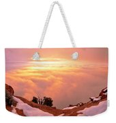 Canyonlands Winter Weekender Tote Bag