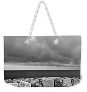 Caorle Dream Black And White Weekender Tote Bag