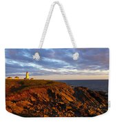 Cape Anguille Lighthouse Weekender Tote Bag