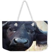 Cape Buffalo Up Close And Personal Weekender Tote Bag