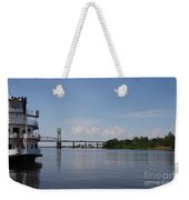 Cape Fear River Weekender Tote Bag