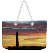 Cape Hatteras Lighthouse At Sunset Weekender Tote Bag