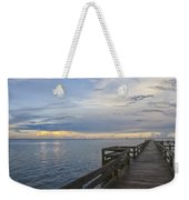 Cape Kennedy At Sunset Weekender Tote Bag