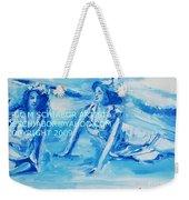 Cape May Bathing Beauty Weekender Tote Bag