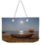 Cape May By Moonlight Weekender Tote Bag