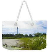 Cape May Lighthouse - New Jersey Weekender Tote Bag