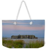 Cape May Wold War Two Concrete Bunker Weekender Tote Bag
