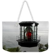 Cape Meares Light Weekender Tote Bag