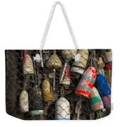 Cape Neddick Lobster Buoys Weekender Tote Bag