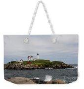 Cape Neddick - Nubble Lighthouse Weekender Tote Bag