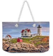 Cape Neddick Nubble Lighthouse II Weekender Tote Bag