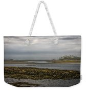 Cape Porpoise Maine - Fog On The Horizon Weekender Tote Bag by Bob Orsillo