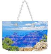 Cape Royal Blue On North Rim Of Grand Canyon-arizona Weekender Tote Bag