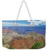 Cape Royal Two On North Rim Of Grand Canyon-arizona Weekender Tote Bag
