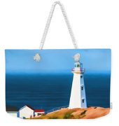 Cape Spear Lighthouse Weekender Tote Bag