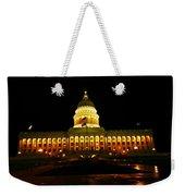 Capital Building In Utah Salt Lake City Weekender Tote Bag