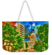 Capital - Jefferson City Missouri - Painting Weekender Tote Bag