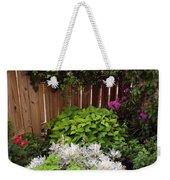 Capitol Hill Patio Garden Weekender Tote Bag