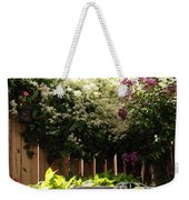Capitol Hill Secret Garden Weekender Tote Bag