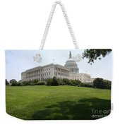 Capitol Hill View Washington Dc Weekender Tote Bag
