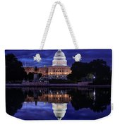 Capitol Morning Weekender Tote Bag