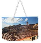 Capoliveri Against The Sun - Elba Island Weekender Tote Bag