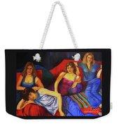 Capricious Luck Weekender Tote Bag